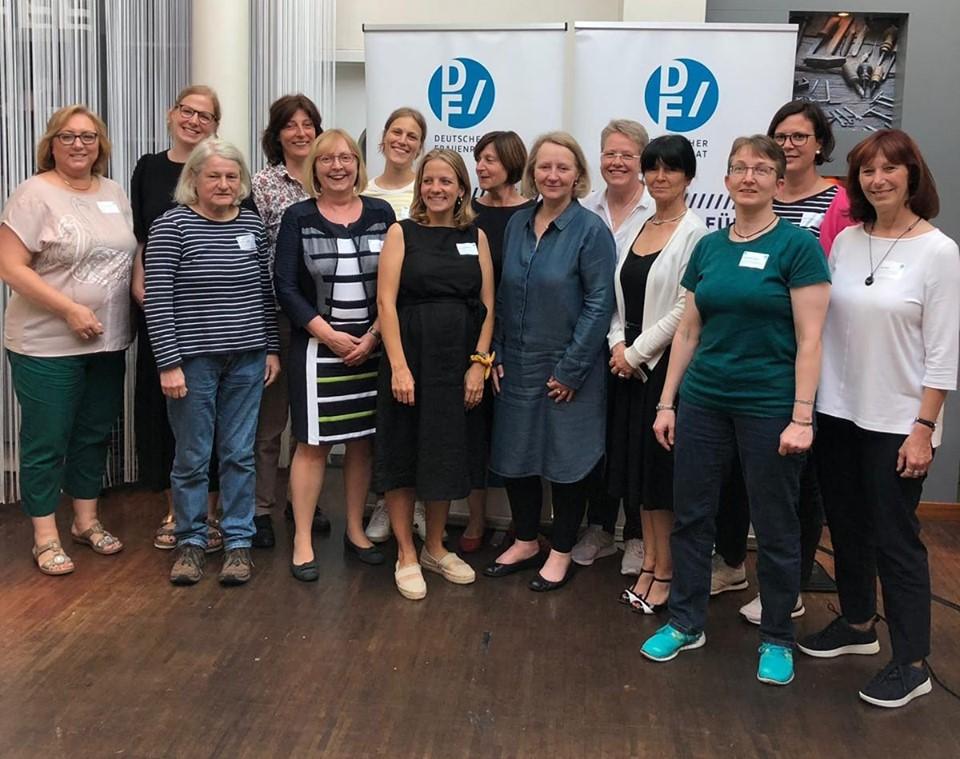 Delegation des DGb auf der Mitgliederversammlung der Deutschen Frauenrats 2019