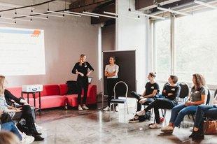 Was verdient die Frau beim Barcamp