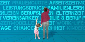 Vereinbarkeit Mutter mit Kind