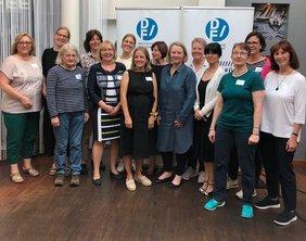 Delegation des DGB bei der Mitgliederversammlung des Deutschen Frauenrats 2019
