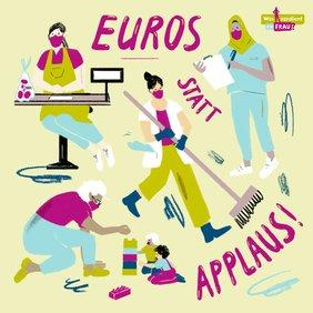Euros statt Applaus