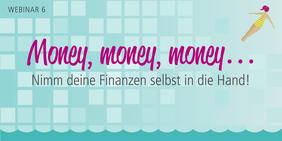 """Teaserbild für das Webinar """"Money, Money, Money"""""""